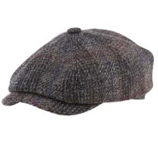 Stetson 8 panels Harris Tweed