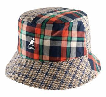 Plaid Mashup Bucket Kangol